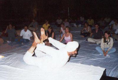 Narotam Ji in Yoga